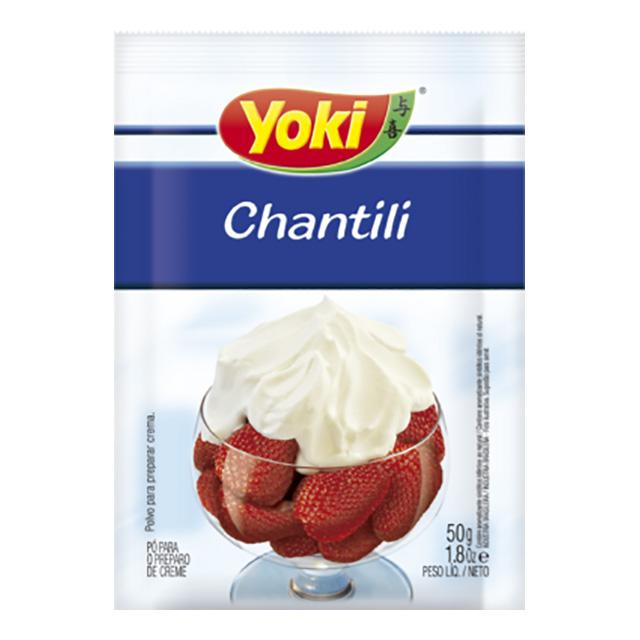 PO P/CHANTILI YOKI 50G