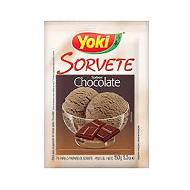 PO P/SORVETE YOKI 150G CHOCOLATE