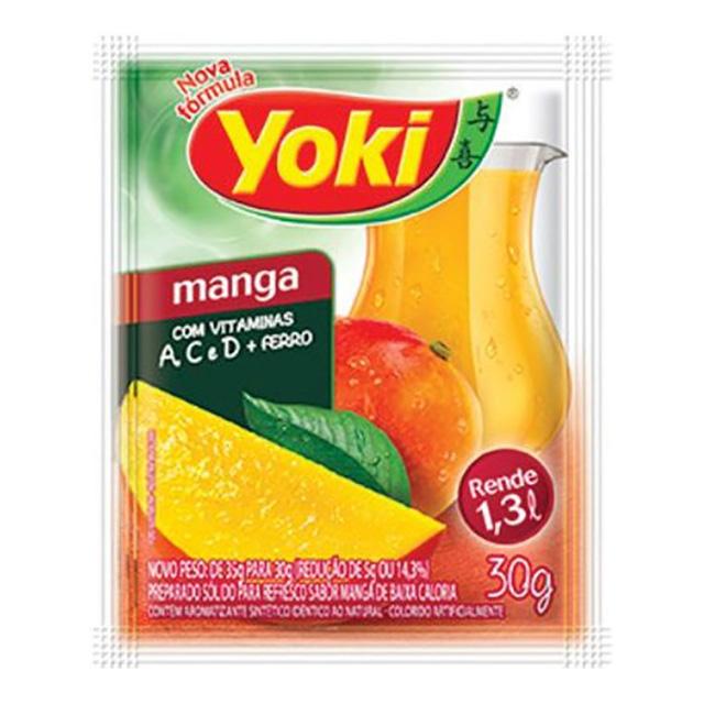 REFRESCO YOKI 15X30G MANGA