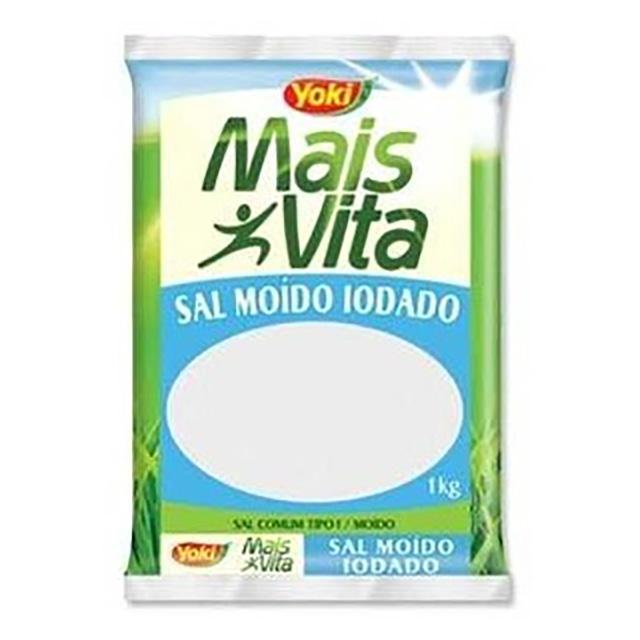 SAL MOIDO IODADO YOKI 1KG