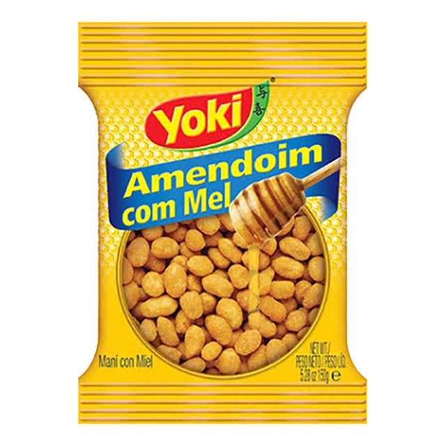 AMENDOIM YOKI 150G COM MEL