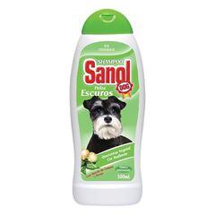 SHAMPOO SANOL DOG 500ML PELOS ESCU HEN E MACE
