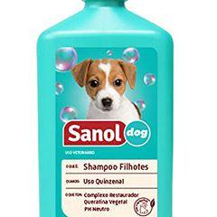 SHAMPOO SANOL DOG 500ML FILHOTE