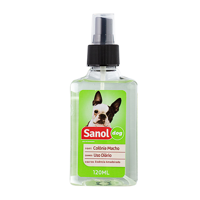COLONIA SANOL DOG 120ML MACHO Nº4