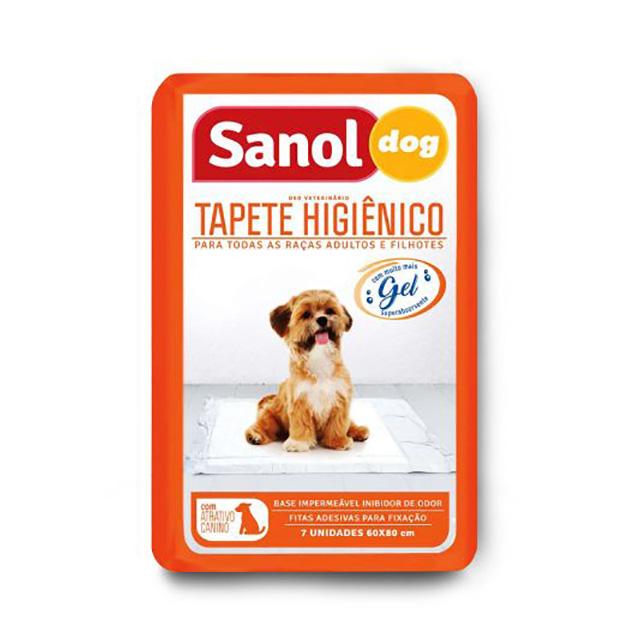 TAPETE HIGIENICO SANOL C/7UN