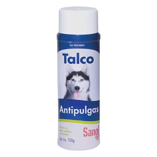 TALCO ANTIPULGAS 100G